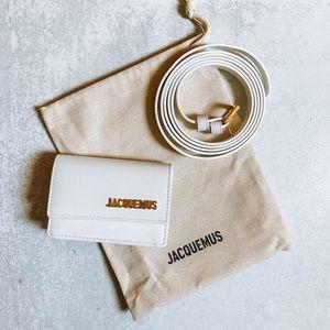 Jacquemus White 'La Ceinture Bello' Belt Bag